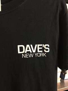 🚚 DAVES NEW YORK 黑S短踢 (非032c)