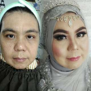 Make up akad tanpa cukur alis