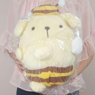 Pompompurin dog bee stuffed toy