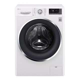 LG Mesin Cuci FC1207S3W Washing Machine Front Loading Kap 7KG Garansi Resmi Harga Promo