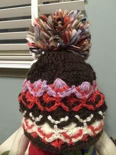 🚚 球球毛線帽