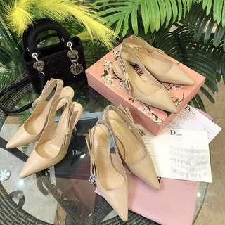 Dior kitten heels