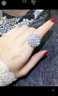 🚚 歐美誇張個性食指戒指💍