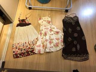 Dresses & tops. $30 for all 8 pieces