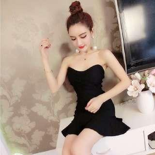 Instock!! Price Greatly Reduced!! Brand New In Plastic!! Super Sexy And Sweet Korean Style M Cut Front/M Cut Neckline/Sweetheart Neckline/Bustier Mermaid/Trumpet Tube Dress