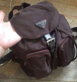 Authentic Prada Backpack