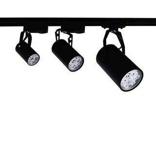 3pc LED spotlight with Track rail