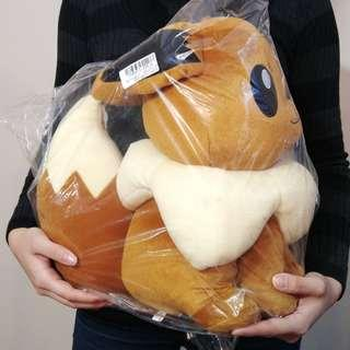 Large Pokemon Eevee stuffed toy