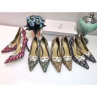 Dior canvas Heels