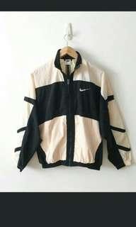 Nike Vintage 90s Swoosh Windbreaker Jacket