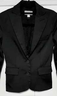 🚚 (Garage in progress): Mango satin Black formal blazer