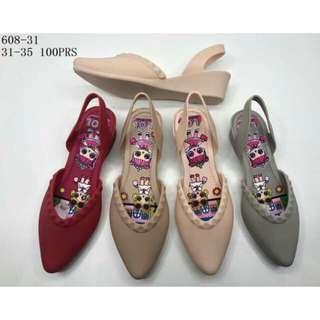 Sepatu jelly loly wanita