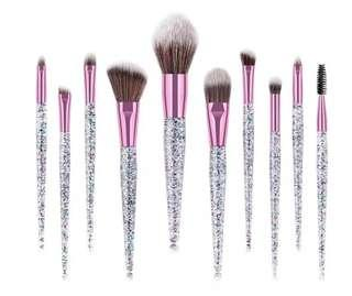 Sequin Make up brushes