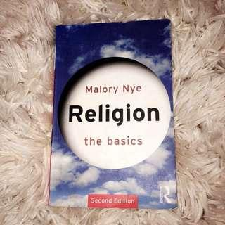 """Malory Nye """"Religion the Basics"""" Textbook"""