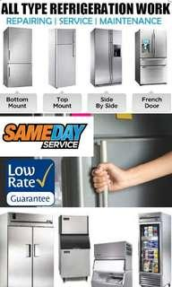 freezer fridge refrigerator repair service offer