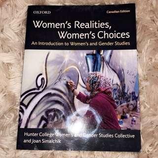 Women's Realities, Women's Choices Textbook