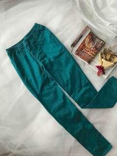 Giordano Pretty Green Denim Strectchable Pants