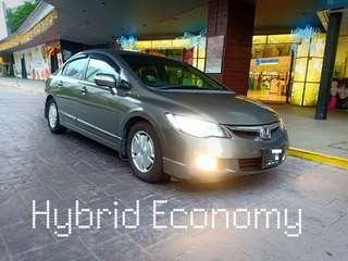 Civic Hybrid for long term rental