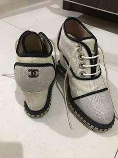 chanel wedges sneakers super mirror quality