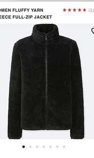 UNIQLO fluffy fleece sweater