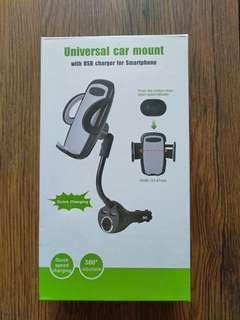 Universal car mount phone holder