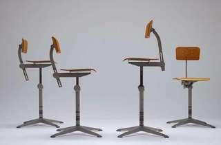Vintage 1964 Architect Chairs