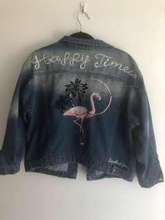 Oversized denim jacket 6-10