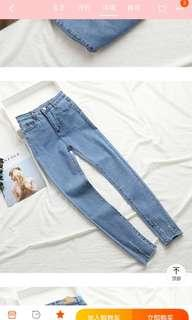 🚚 Ripe jeans(light blue)