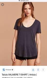 Talula Aritzia T-Shirt Tshirt shirt