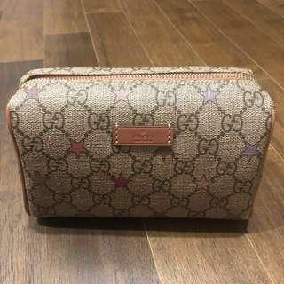 Authentic GUCCI cosmetic pouch for SALE!