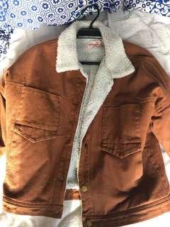 Rusty Sherpa jacket Showpo