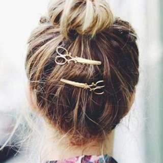 Scissors Hairpin