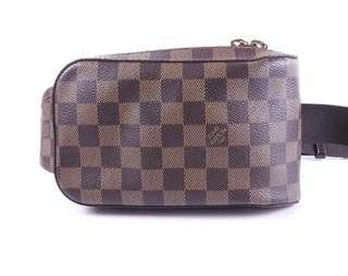 Authentic louis vuitton geronimos waist bag bum bag beltbag