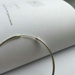 🚚 個性針式圈圈耳環