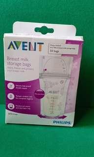 Avent 50 pcs storage bags