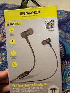 🚚 Authentic Awei Bluetooth Sports Earphones