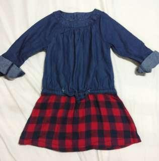 Mothercare Denim dress