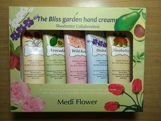 🚚 韓國Medi Flower 秘密花園護手霜禮盒(50g*5入)