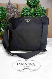 Authentic Prada Tessuto Crossbody Bag