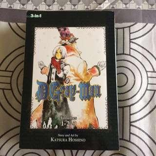 D.Gray-man 3-in-1 Vol 1,2,3