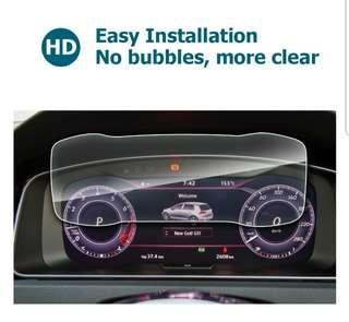 🚚 Volkswagen Golf MK 7.5, 12.3 inch active display 9H tempered glass protector