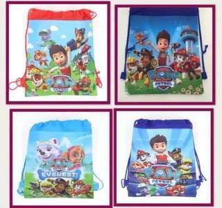 Paw Patrol Drawstring Goodie Bag