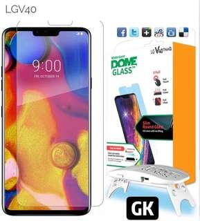 🚚 Whitestone Dome Glass for LG V40