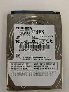 "2.5"" 60Gb Notebook Harddisk"