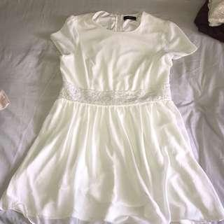 Pagani white dress