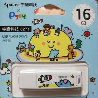 🚚 宇瞻 USB隨身碟16g