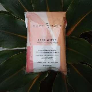 Rollover Reaction Cleansing Wipes