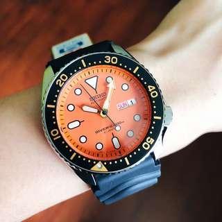 🚚 BNIB Seiko Automatic Made In Japan Diver 200m SKX011 SKX011J1 SKX011J Men's Watch