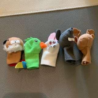Tale all finger puppet isi 5