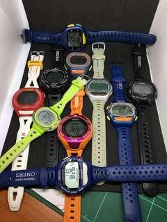 Collection of Seiko Super Runners